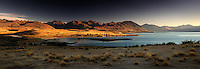 Richard Furhoff 100101_Tekapo_Panorama.tif.Sunrise Over Lake Tekapo, New Zealand..