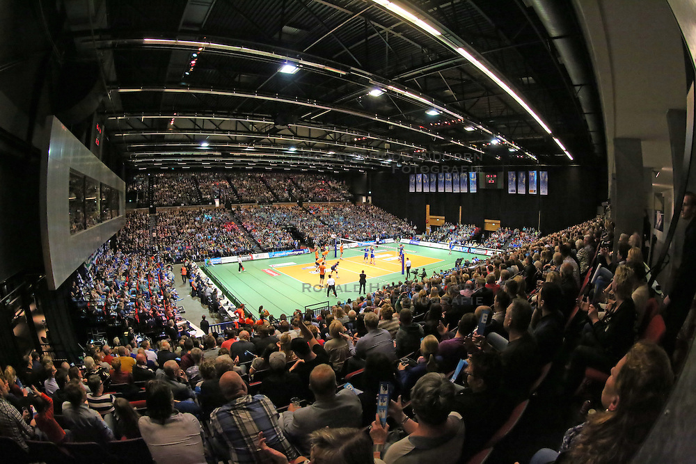 20160424 NED: Play off finale Abiant Lycurgus - Seesing Personeel Orion, Groningen<br />Overview Martiniplaza, Groningen
