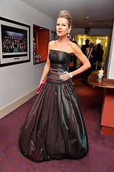 STEPHANIE GORBOUNOVA at the Ave Maya Ballet gala in memory of Maya Plisetskava held at the English National Opera, St.Martin's Lane, London on 6th March 2016.