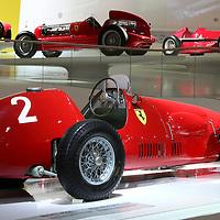 Ferrari 500 F2 at Museo Casa Enzo Ferrari, 2014