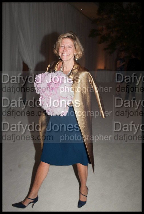 COUNTESS EDMONDO DI ROBILANT, Cartier dinner in celebration of the Chelsea Flower Show. The Palm Court at the Hurlingham Club, London. 19 May 2014.