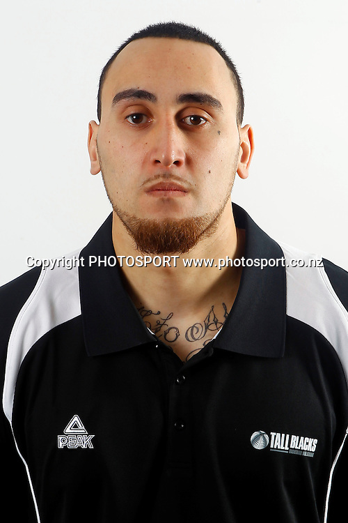 Leon Henry. Tall Blacks Headshots, New Zealand basketball. Millennium Institute of Sport, Auckland. 29 July 2011. Photo: William Booth/photosport.co.nz