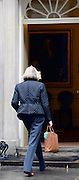 © Licensed to London News Pictures. 01/05/2012. London, UK . Home Secretary Theresa May enters number 10. Cabinet ministers in Downing Street for the Cabinet Meeting on 1st May 2012. Photo credit : Stephen Simpson/LNP