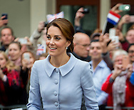 The Hague,  11-10-2016  <br /> <br /> The Duchess of Cambridge visited The Maurits House in The Hague.<br /> <br /> COPYRIGHT ROYALPORTRAITS EUROPE/ BERNARD RUEBSAMEN