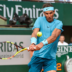 Rafael Nadal of Spain during Day 15 for the French Open 2018 on June 10, 2018 in Paris, France. (Photo by Baptiste Fernandez/Icon Sport)