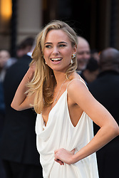 Kimberley Garner arrive for the UK premiere of the film 'Noah', Odeon, London, United Kingdom. Monday, 31st March 2014. Picture by Daniel Leal-Olivas / i-Images