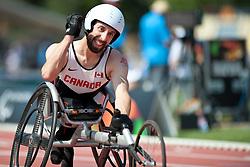 LAKATOS Brent, CAN, 100m, T53, 2013 IPC Athletics World Championships, Lyon, France