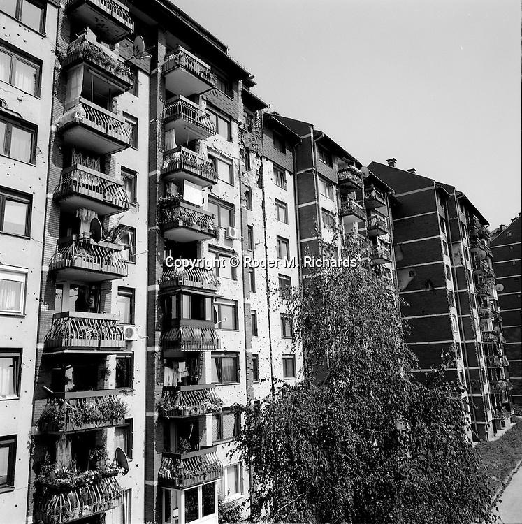Apartment building, Nedjarici, Sarajevo, July 2008.