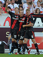 Fussball Bundesliga 2011/12: VFB Stuttgart - Bayer 04 Leverkusen
