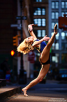 Dance As Art New York City Photography Project SoHo Series with dancer, Krystal Lamiroult