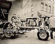 Tractor Portrait 3<br /> 8x10 tintype on aluminum.