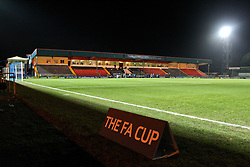 A general view of Spotland Stadium before kick off - Photo mandatory by-line: Matt McNulty/JMP - Mobile: 07966 386802 - 26/01/2015 - SPORT - Football - Rochdale - Spotland Stadium - Rochdale v Stoke City - FA Cup Fourth Round