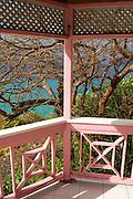 colorful deck in Tortola, BVI