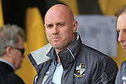 Rob Page during the Sky Bet League 1 match between Port Vale and Rochdale at Vale Park, Burslem, England on 23 April 2016. Photo by Daniel Youngs.