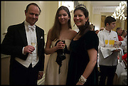 PRINCE DIMITRI  LOBANOV-ROSTOVSKY; PRINCESS TATIANA LOBANOV-ROSTOVSKY; PRINCESS DIMITRI LOBANOV-ROSTOVSKY,, The St. Petersburg Ball. In aid of the Children's Burns Trust. The Landmark Hotel. Marylebone Rd. London. 14 February 2015. Less costs  all income from print sales and downloads will be donated to the Children's Burns Trust.