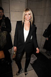 JO WOOD at the London College of Fashion Show held at the Victoria & Albert Museum, Cromwell Road, London on 28th January 2010.