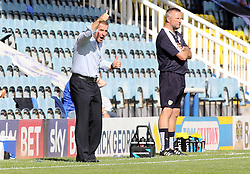 Peterborough United Manager Dave Robertson encourages his players  - Mandatory byline: Joe Dent/JMP - 07966386802 - 15/08/2015 - FOOTBALL - ABAX Stadium -Peterborough,England - Peterborough United v Colchester United - Sky Bet League One