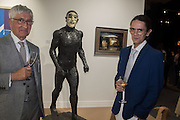 REG SINGH; LOUIS SINGH, BEAUX ARTS, The preview of LAPADA Art and Antiques Fair. Berkeley Sq. London. 21 September 2015.