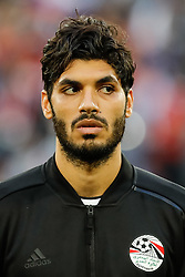 June 19, 2018 - Saint Petersburg, Russia - Ali Gabr of Egypt national team during the 2018 FIFA World Cup Russia group A match between Russia and Egypt on June 19, 2018 at Saint Petersburg Stadium in Saint Petersburg, Russia. (Credit Image: © Mike Kireev/NurPhoto via ZUMA Press)
