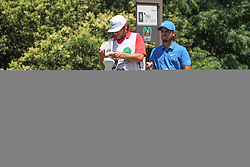May 26, 2018 - Fort Worth, TX, U.S. - FORT WORTH, TX - MAY 26: Abraham Ancer (MEX) looks over the 9th hole during the third round of the Fort Worth Invitational on May 26, 2018 at Colonial Country Club in Fort Worth, TX. (Photo by George Walker/Icon Sportswire) (Credit Image: © George Walker/Icon SMI via ZUMA Press)