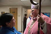 STATEN ISLAND,NEW YORK: Images from the Celebration of the Parish of the Holy Family in Staten Island. Timothy Cardinal Dolan presided with Father Alan Travers.
