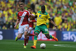 Sebastian Bassong Norwich, Middlesbrough v Norwich, Sky Bet Championship, Play Off Final, Wembley Stadium, Monday  25th May 2015