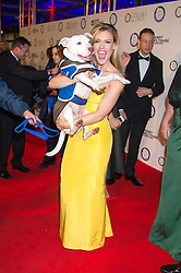 CAMILLA KERSLAKE at the Battersea Dogs & Cats Home's Collars & Coats Gala Ball held at Battersea Evolution, Battersea Park, London on 12th November 2015.