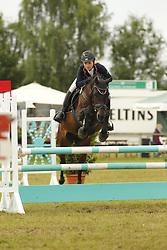 Barnstedt, Katharina, Joy 252<br /> Eutin - Dressur- und Springturnier<br /> Ponystilspringen<br /> © www.sportfotos-lafrentz.de/Stefan Lafrentz