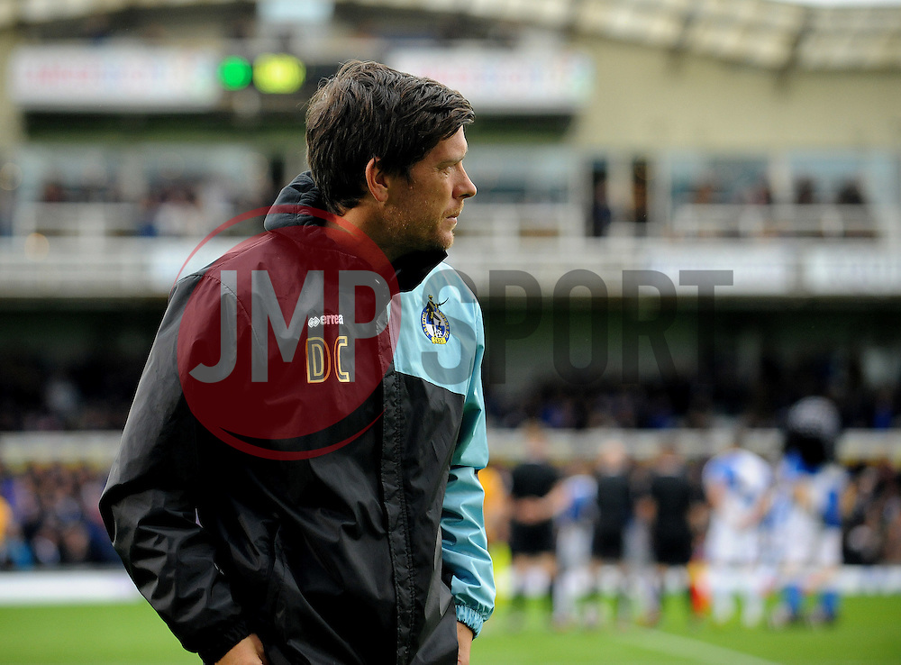 Bristol Rovers Manager Darrell Clarke - Mandatory byline: Neil Brookman/JMP - 07966 386802 - 24/10/2015 - FOOTBALL - Memorial Stadium - Bristol, England - Bristol Rovers v Newport County AFC - Sky Bet League Two