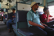 Travelling in Indian trains through the state of Punjab.