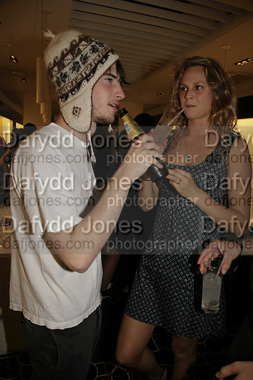 Tom Sturridge, Nina Schubert, PPQ of Mayfair shop launch. 47 Conduit St. 18 September 2006. ONE TIME USE ONLY - DO NOT ARCHIVE  © Copyright Photograph by Dafydd Jones 66 Stockwell Park Rd. London SW9 0DA Tel 020 7733 0108 www.dafjones.com