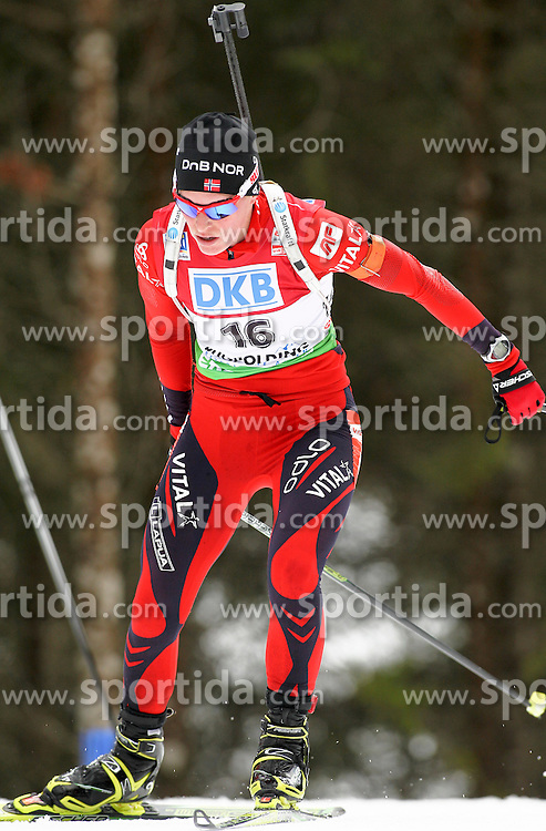 15.01.2011, Chiemgau Arena, Ruhpolding, GER, IBU Biathlon Worldcup, Ruhpolding, Sprint Women, im Bild Tora BERGER (NOR) // Tora BERGER (NOR) during IBU Biathlon World Cup in Ruhpolding, Germany, EXPA Pictures © 2011, PhotoCredit: EXPA/ S. Kiesewetter