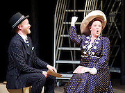 Titanic <br /> at The Charing Cross Theatre, London, Great Britain <br /> press photocall <br /> 3rd June 2016 <br /> <br /> Director Thom Southerland<br /> Musical Staging Cressida Carr&eacute;<br /> Musical Director Mark Aspinall<br /> Set &amp; Costume Designer David Woodhead<br /> Lighting Designer Howard Hudson<br /> Sound Designer Andrew Johnson<br /> <br /> <br /> <br /> <br /> <br /> <br /> Peter Prentice as Edgar Beane <br /> <br /> Claire Machin as Alice Beane <br /> <br /> <br /> Photograph by Elliott Franks <br /> Image licensed to Elliott Franks Photography Services