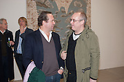 TOBY MOTT; CARL WILLIAM, Mandala for Crusoe, Exhibition of work by Francesco Clemente. Blain/Southern. Hanover Sq. London. 29 November 2012