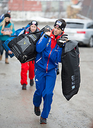 04.01.2015, Bergisel Schanze, Innsbruck, AUT, FIS Ski Sprung Weltcup, 63. Vierschanzentournee, Innsbruck, Probesprung, im Bild Anders Bardal (NOR) // Anders Bardal of Norway before the Trial Jump for the 63rd Four Hills Tournament of FIS Ski Jumping World Cup at the Bergisel Schanze in Innsbruck, Austria on 2015/01/04. EXPA Pictures © 2015, PhotoCredit: EXPA/ JFK