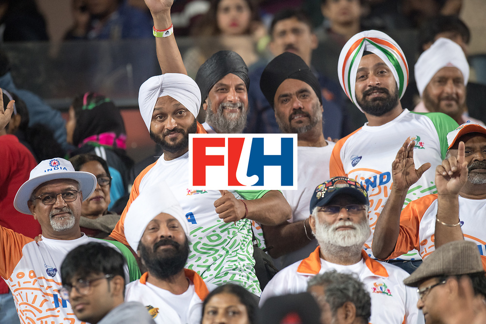 Odisha Men's Hockey World League Final Bhubaneswar 2017<br /> Match id:05<br /> 06 IND v ENG (Pool B)<br /> Foto: Indien fans.<br /> WORLDSPORTPICS COPYRIGHT FRANK UIJLENBROEK