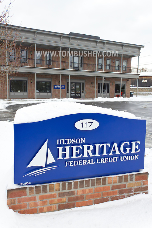 Middletown, New York - The Hudson Heritage Federal Credit Union branch on in Goshen.