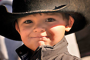 Cutter Lewis, 4, prepares for the start of the Tucson Rodeo Parade, the longest non-motorized parade in the nation. This 89-year-old event occurs each February in conjunction with La Fiesta de los Vaqueros, the Tucson Rodeo.  The event draws over 150,000 spectators in southern Tucson.