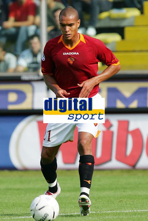 Parma 24/09/2006<br /> Campionato Italiano Serie A 2006/07<br /> Parma-Roma 0-4<br /> Matteo Ferrari Roma<br /> Foto Luca Pagliaricci Inside<br /> www.insidefoto.com