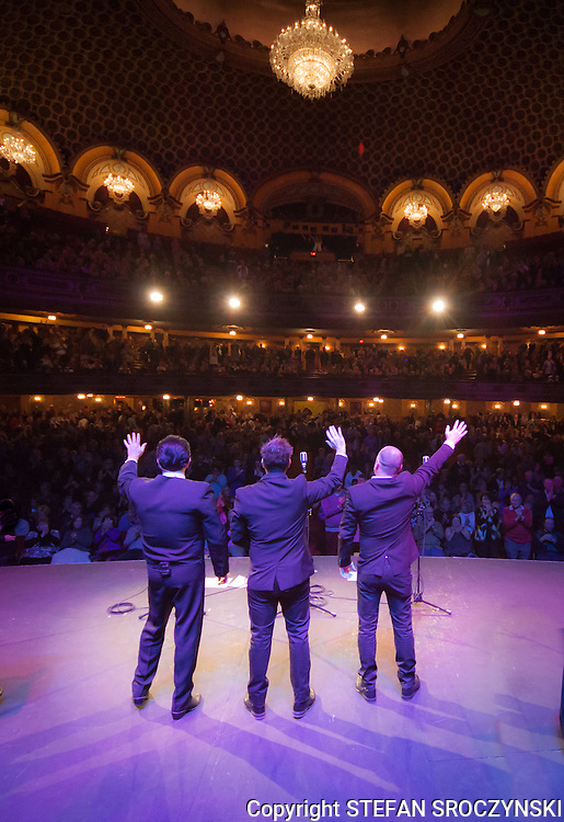 Promo shot from back of stage during the The Robertson Brothers and Dean Bourne tribute to The Everly Brothers and Roy Orbison. <br />