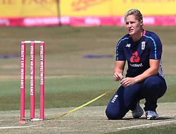 July 1, 2018 - London, Greater London, United Kingdom - Katherine Brunt of England Women.during International Twenty20 Final match between England Women and New Zealand Women  at The Cloudfm County Ground, Chelmsford, England on 01 July 2018. (Credit Image: © Kieran Galvin/NurPhoto via ZUMA Press)