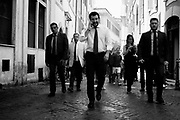 Matteo Salvini walking in the down town of Rome nearby the Italian Parliament on13 June 2018. Christian Mantuano / OneShot
