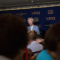 September 7, 2016, TOKYO, former Prime  Minister  Junichiro Koizumi  give  a  speech at press club about launching funds  for US navy  sailors and marines  of US aircrafyt carrier Ronald Reagan who have  developped cancer , leukemia, after being exposed on radioactive plume during Fukushima nuclear accident after participate  at Operation Tomodachi a military relief effort on triple disaster. 400 of marines who were irradiated organize lawsuits  against Tepco operator. Pierre Boutier