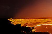 Erta Ale volcano, Danakil Depression, Ethiopia. 2013