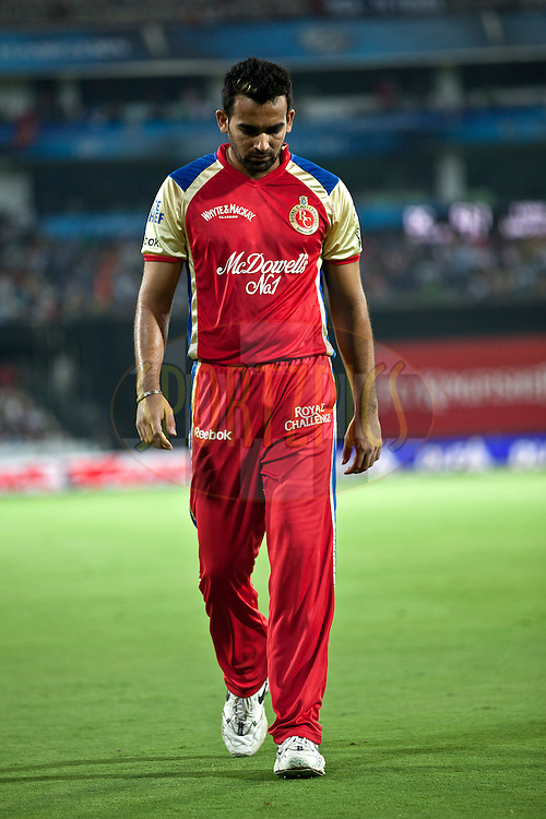 Zahir Khan during match 11 of the Indian Premier League ( IPL ) between the Deccan Chargers and the Royal Challengers Bangalore held at the Rajiv Gandhi International Cricket Stadium in Hyderabad on the 14th April 2011..Photo by Saikat Das/BCCI/SPORTZPICS