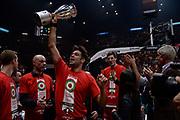 DESCRIZIONE : Beko Final Eight Coppa Italia 2016 Serie A Final8 Finale Olimpia EA7 Emporio Armani Milano - Sidigas Scandone Avellino<br /> GIOCATORE : Bruno Cerella<br /> CATEGORIA : Ritratto Esultanza Postgame Premiazione<br /> SQUADRA : Olimpia EA7 Emporio Armani Milano<br /> EVENTO : Beko Final Eight Coppa Italia 2016<br /> GARA : Finale Olimpia EA7 Emporio Armani Milano - Sidigas Scandone Avellino<br /> DATA : 21/02/2016<br /> SPORT : Pallacanestro <br /> AUTORE : Agenzia Ciamillo-Castoria/C.Atzori