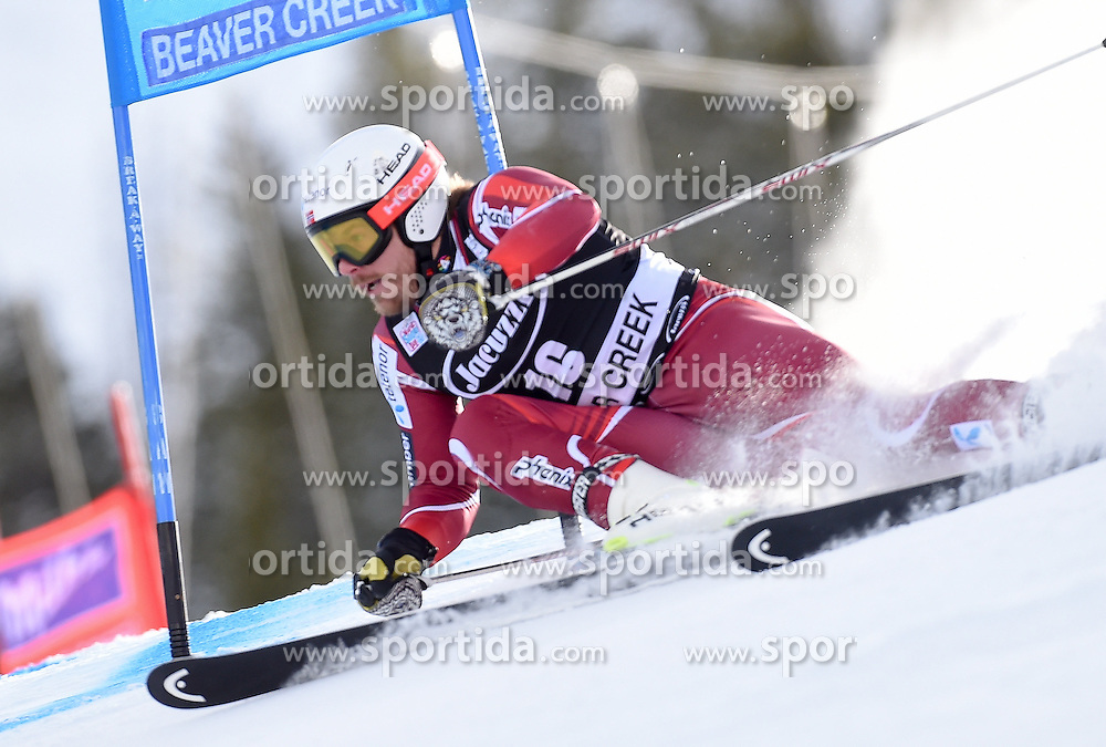06.12.2015, Birds of Prey Course, Beaver Creek, USA, FIS Weltcup Ski Alpin, Beaver Creek, Riesenslalom, Herren, 1. Lauf, im Bild Kjetil Jansrud (NOR) // Kjetil Jansrud of Norway during the first run of mens Giant Slalom of the Beaver Creek FIS Ski Alpine World Cup at the Birds of Prey Course in Beaver Creek, United States on 2015/12/06. EXPA Pictures © 2015, PhotoCredit: EXPA/ Erich Spiess