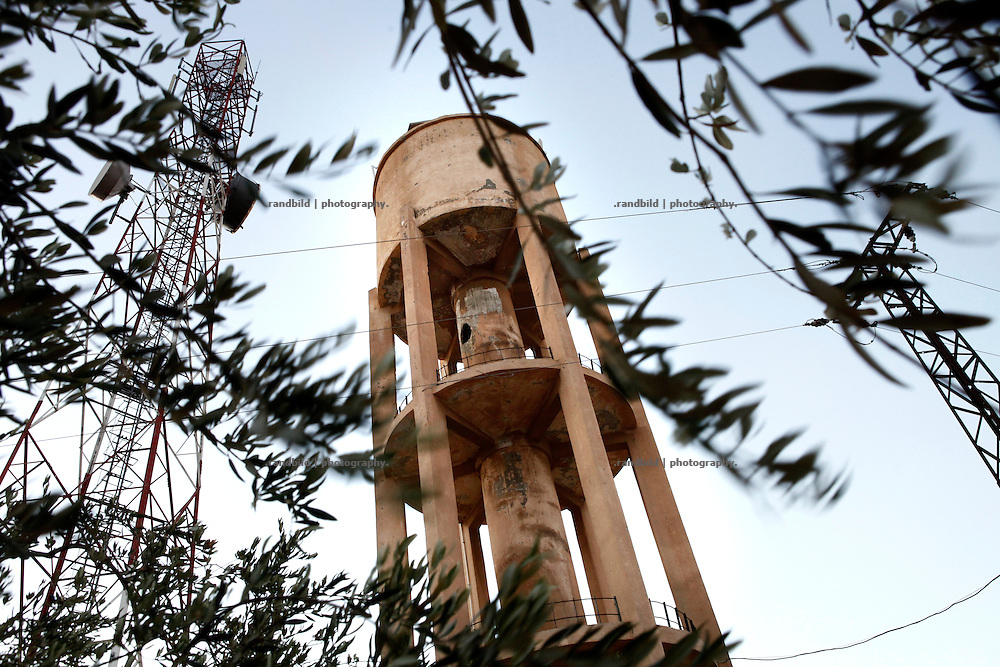 The water tower provides drinking water for several villages has been badly damaged by shelling. as far as possible restored it is still in function and essential to the peoples water supply - as long the water pumps doesn&acute;t break down what often is the case.<br />