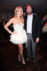 MEREDITH OSTROM and TOPPER MORTIMER at a party following the premier of Boogie Woogie held at The Westbury Hotel, Conduit Street, London on 13th April 2010.