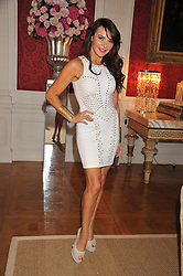 LIZZIE CUNDY at a party to celebrate Tamara Ecclestone's 28th birthday held in Tyringham, Newport Pagnell, Bucks on15th June 2012.